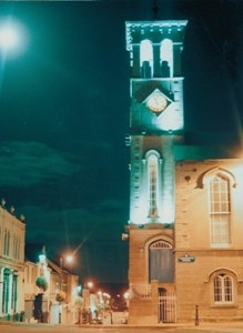 The Clock Tower at the Diamond